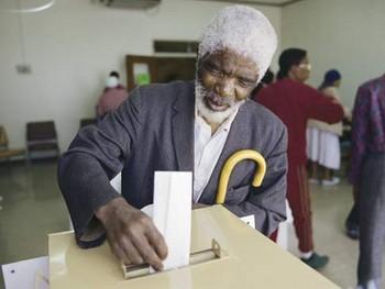 Electeur Sud Africain