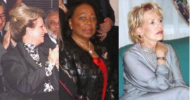 Les premières dames du Sénégal