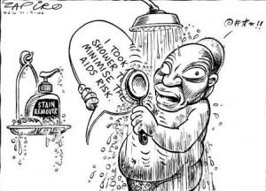 Jacob Zuma se protège contre le SIDA