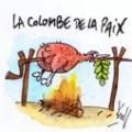 colombe de la paix selon Pierre Kroll