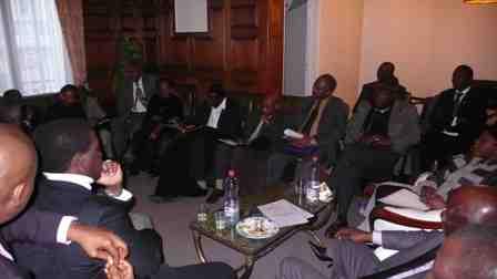 Rencontre à l'Ambassade Guinée à Paris