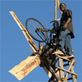 william kamkwamba sur son éolienne