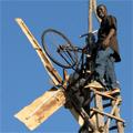 william kamkwamba sur son éolienne