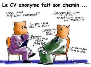 cv anonyme