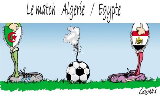 guerre entre l'Algérie et l'Égypte