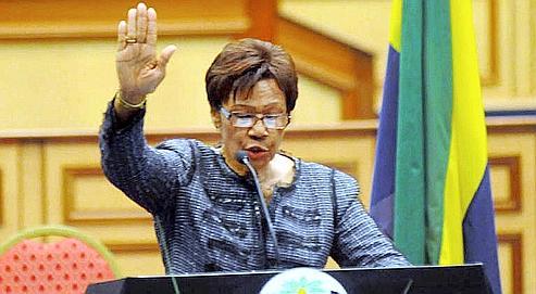 Rose Francine Rogombe devient présidente par intérim du Gabon