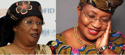 Joyce Banda et  Ngozi Okonjo-Iweala